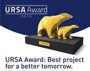 URSA Italia promuove l'URSA Award: Best project for a better tomorrow