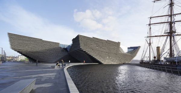 Progetto Victoria & Albert Museum di Dundee by Kengo Kuma