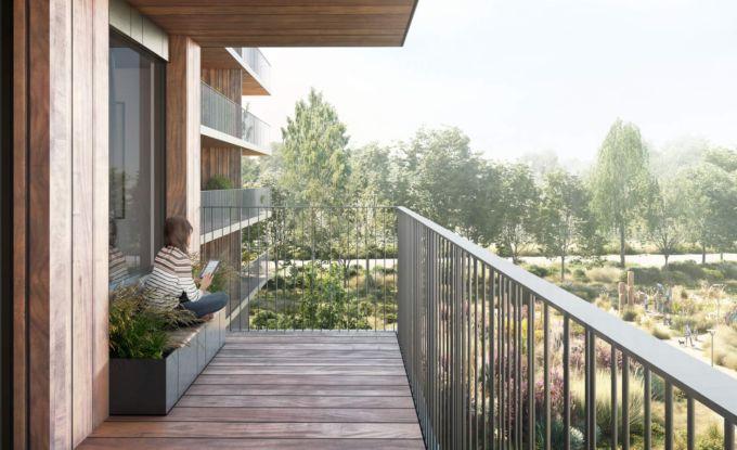 Valckensteyn: edificio carbon neutral a base di legno