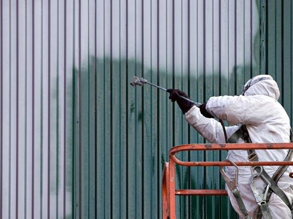 Verniciatura dell'acciaio per protezione anti ruggine