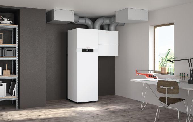 Ventilazione meccanica controllata: Vitovent 300 – W di Viessmann