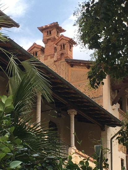 Villino delle Fate nel quartiere Coppedè a Roma
