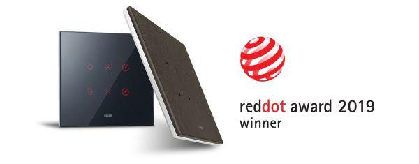 Eikon Tactil di Vimar vince il prestigioso Red Dot Award 2019