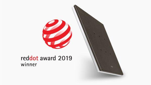 Eikon Tactil di Vimar si aggiudica il prestigioso Red Dot Award 2019
