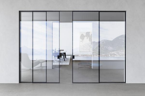 Viva presenta le porte in vetro della serie Como