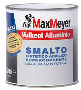 VULKEOL ALLUMINIO – SMALTO BRILLANTE, SUPERCOPRENTE, ANTICORROSIVO