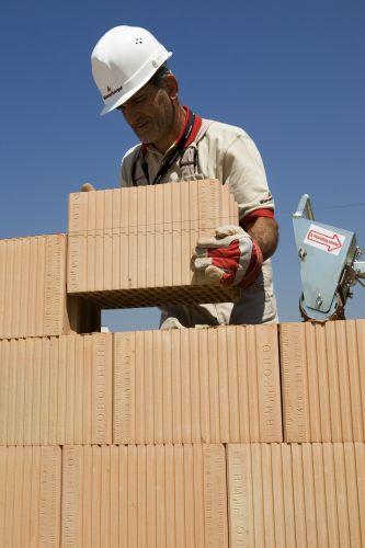 laterizi rettificati per muratura portante ordinaria Porotherm BIO PLAN