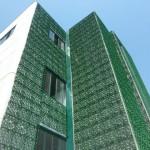 Un giardino verticale personalizza le facciate di Dacla