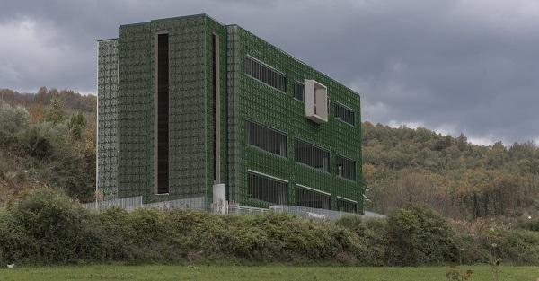 Edificio con Wall-y