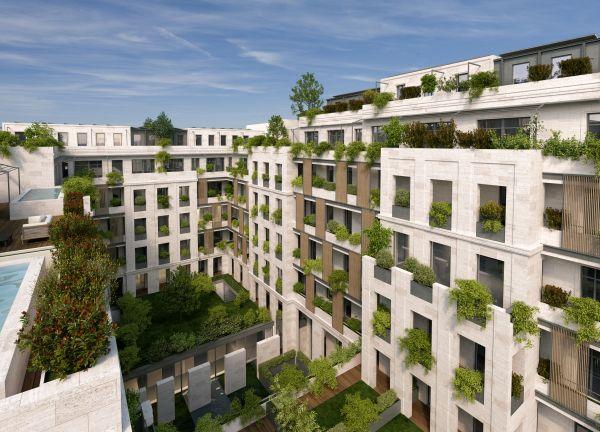 Il verde, elemento architettonico nel progetto Washington Building a Milano