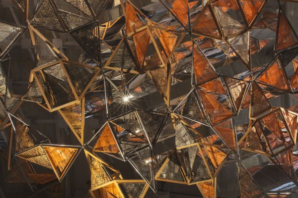 Installazione Weaving Architecture alla Biennale di Venezia