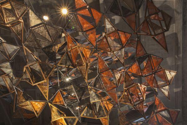 """Installazione """"Weaving Architecture"""" alla Biennale di Architettura a Venezia"""