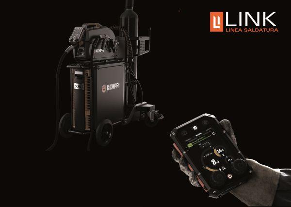 Le soluzioni tecnologiche e all'avanguardia Kemppi Oy sono distribuite in Italia da Link Industries