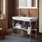 White Tulip: serie completa per il bagno by Philippe Starck