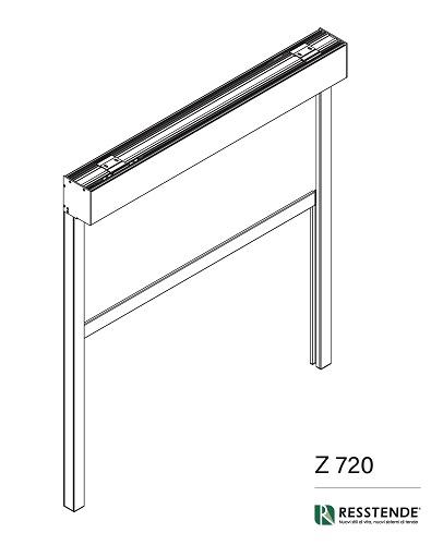 Montaggio tende con Z 720