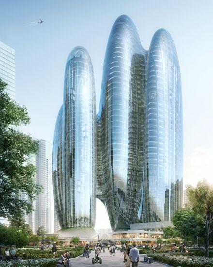 Il quartier generale di Oppo a Shenzhen by ZHA