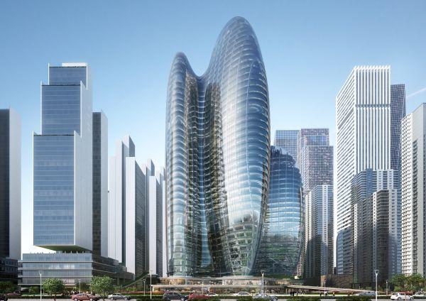 Quattro torri su Shenzhen