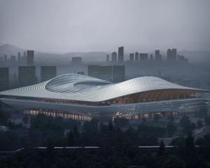 Cina, nuovo stadio firmato Zaha Hadid Architects