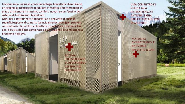 Bioedilizia anti coronavirus: moduli in legno Zeprojects