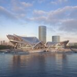 Zhuhai Jinwan Civic Art Center: il centro d'arte che richiama gli uccelli migratori