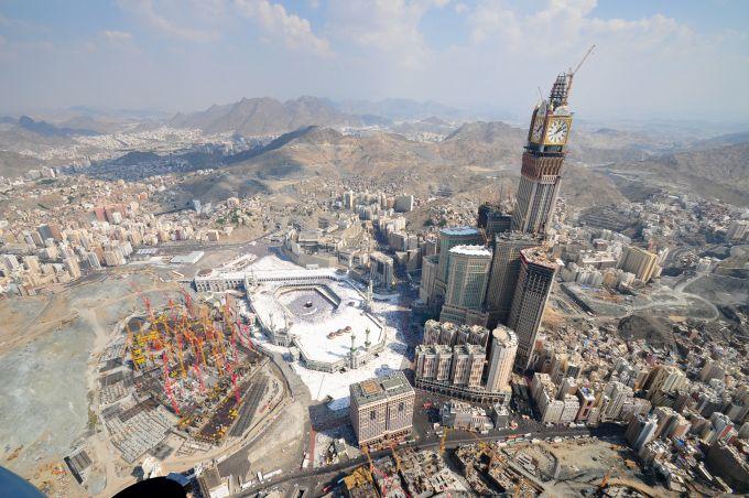 Abraj Al Bait, La Mecca