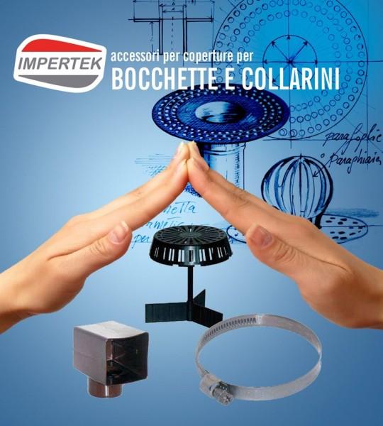 Componenti per coperture  - bocchette e collarini