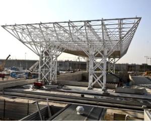 L'80% dell'EXPO è costruito in Acciaio!