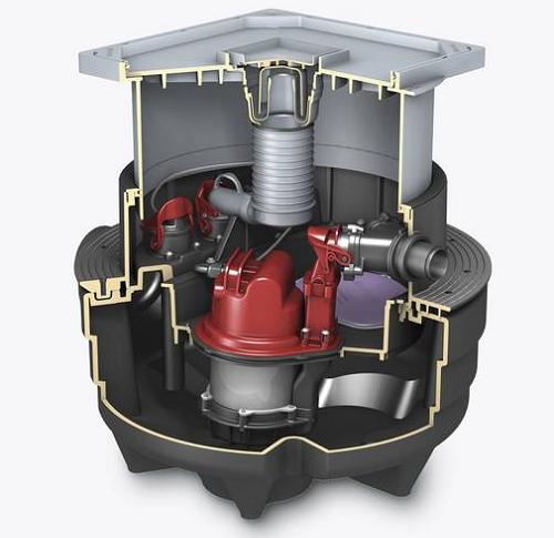 Impianto di sollevamento Aqualift F Compact