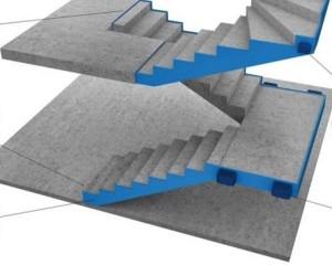 Nuovo sistema per l'isolamento acustico da calpestio del vano scale