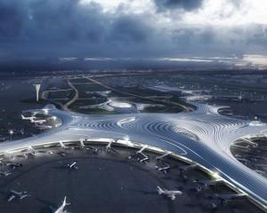 Il terminal dell'aeroporto che sembra un fiocco di neve