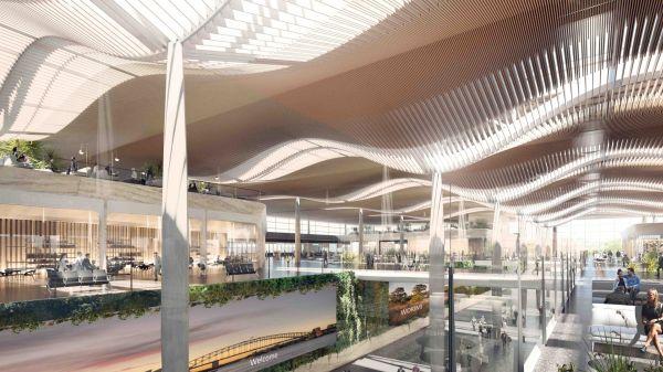 Nuovo aeroporto di Sydney: massimizzazione della luce naturale