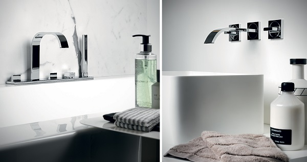 Linea di design per il bagno