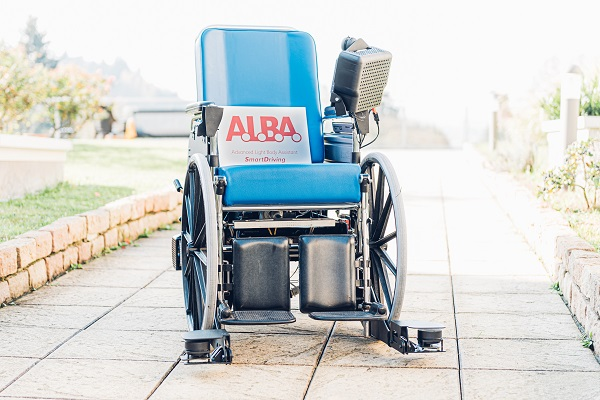 A.L.B.A. la prima carrozzina a guida autonoma
