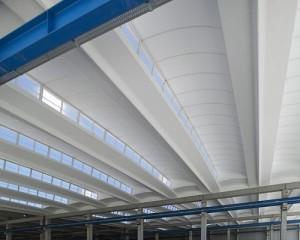 Sistema di copertura per l'illuminazione diffusa Aliant Shed
