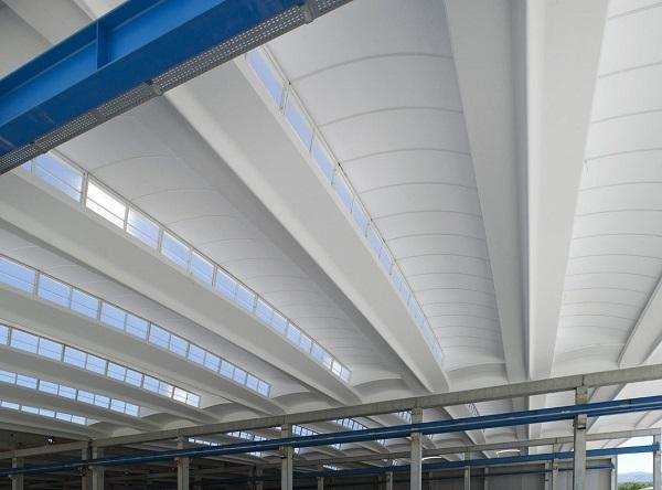 Illuminazione a shed del sistema Aliant Shed