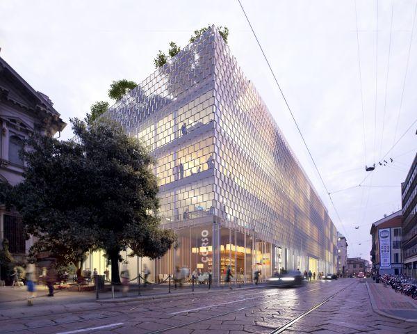 Allianz Milano, Il nuovo edificio su Corso Italia