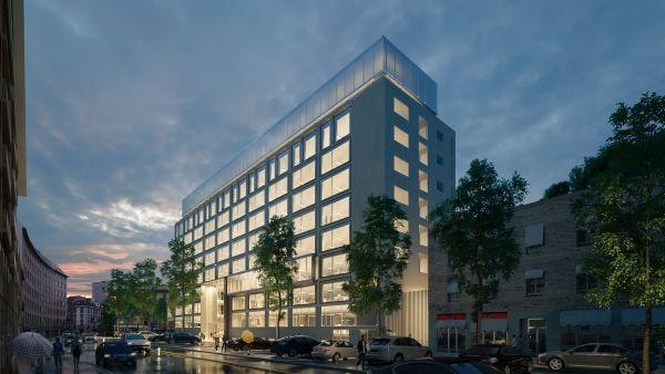 Il nuovo edificio Allianz Milano su Corso Italia
