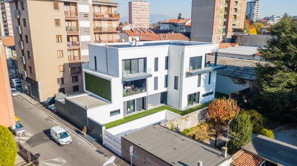 Alu-skin per un edificio residenziale a Seregno