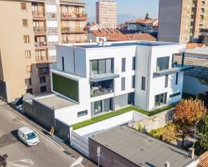 Alu-skin per un edificio residenziale