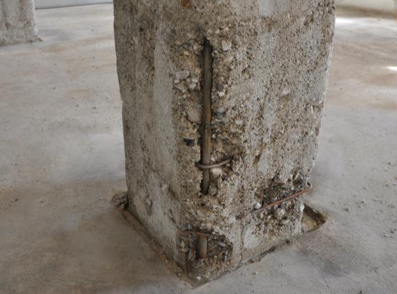 ammaloramento pilastro