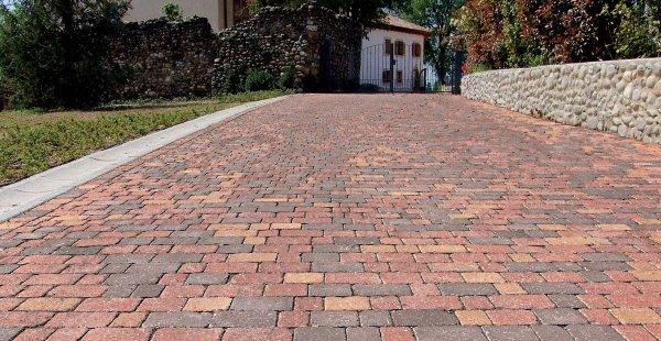 Linea vintage pavimentazioni esterne for Pavimento in autobloccanti