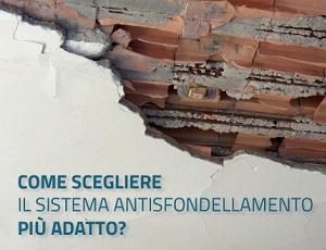 Antisfondellamento solai: quale soluzione scegliere?