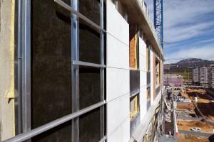 Applicazione facciata ventilata