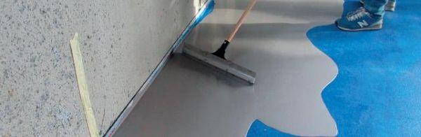 Applicazione VARIOPLAN-HD Pavimento continuo cementizio resistente all'abrasione