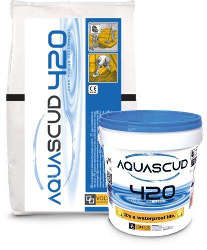 Nuovo Aquascud System 420, l'impermeabilizzante di Volteco