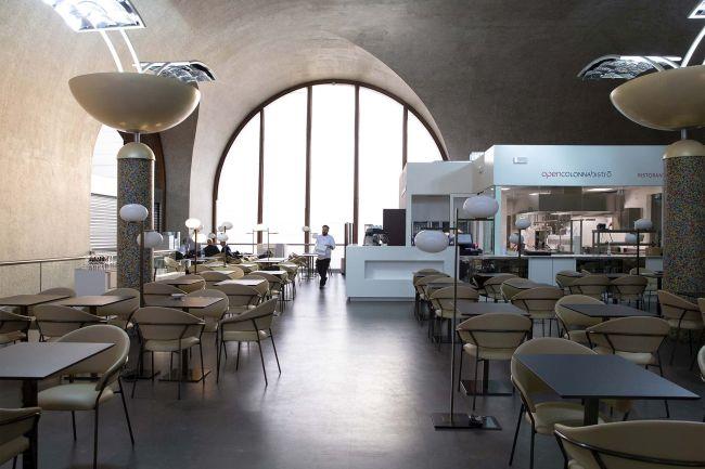 """BIM archicad per la Nuova food court """"Terrazza Termini"""" a Roma, progetto A&T Consulting"""