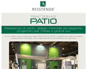 Resstende presenta TRACTION KIT PATIO