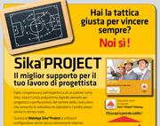Sika Project. Il miglior supporto per il progettista