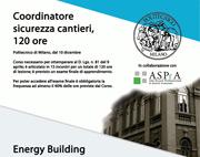Corsi Sicurezza cantiere al Politecnico di Milano, Energy building manager e Edifici in classe A