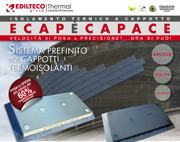 ECAP STIF, il nuovo pannello termoisolante prefinito in Stiferite Class SK